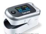 Máy đo nồng độ Oxy trong máu (SPO2) và nhịp tim cá nhân Beurer PO40