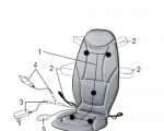 Hướng dẫn sử dụng Đệm massage Beurer MG155