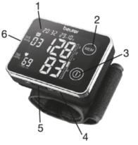 Máy đo huyết áp cổ tay Beurer BC58 a