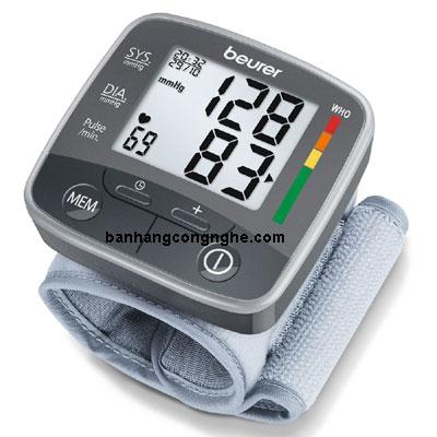 máy đo huyết áp cổ tay beurer bc32 nhập khẩu nguyên chiếc CHLB Đức