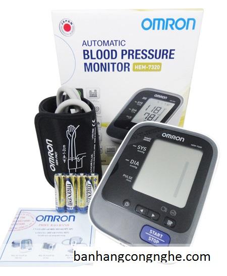 Máy đo huyết áp cổ tay Omron Hem 7320 -p