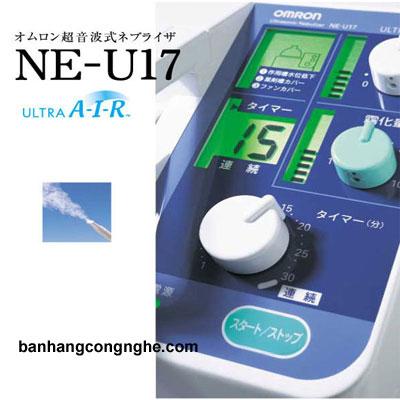 máy xông mũi họng siêu âm Omron NE-U17- 2