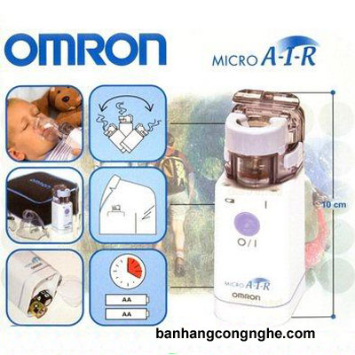 máy xông mũi họng siêu âm Omron NE-U22 -2