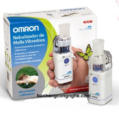máy xông mũi họng siêu âm Omron NE-U22 - 3