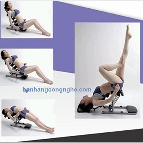 bài tập với máy tập Ab Trainer 607122