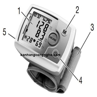 máy đo huyết áp cổ tay Beurer BC31