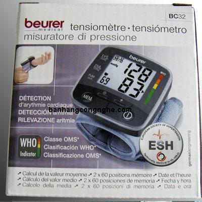 hộp đựng huyết áp beurer bc32