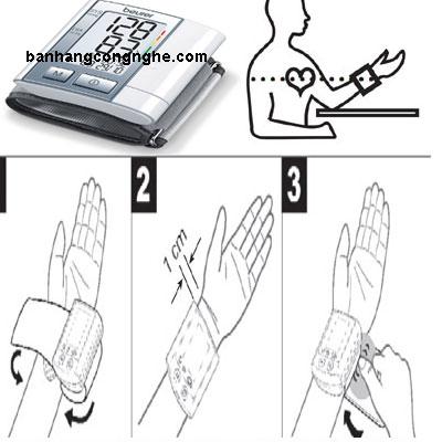 hướng dẫn sử dụng máy đo huyết áo Beurer bc40