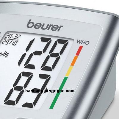 vạch mức huyết áp Bắp tay Beurer BM35