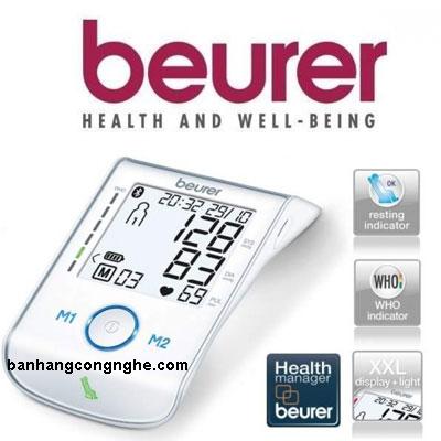 máy đo huyết áp bắp tay Beurer BM85 - 3