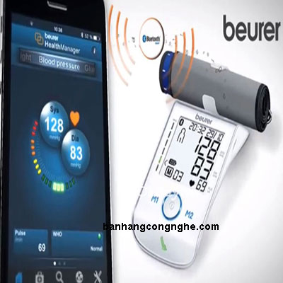 máy đo huyết áp bắp tay Beurer BM85 - 4