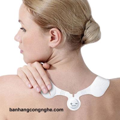 máy massage xung điện trị liệu vai cổ gáy Beurer EM20