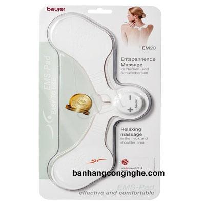 máy massage xung điện trị liệu đau cổ vai gáy Beurer EM20