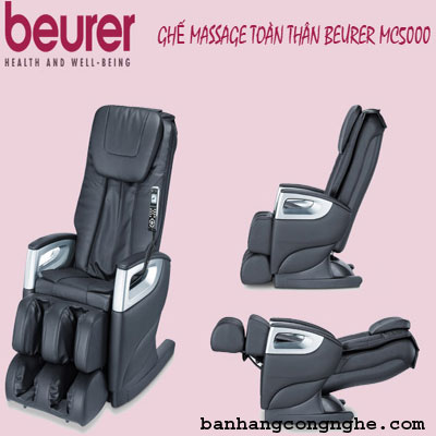 ghế massage beurer MC5000