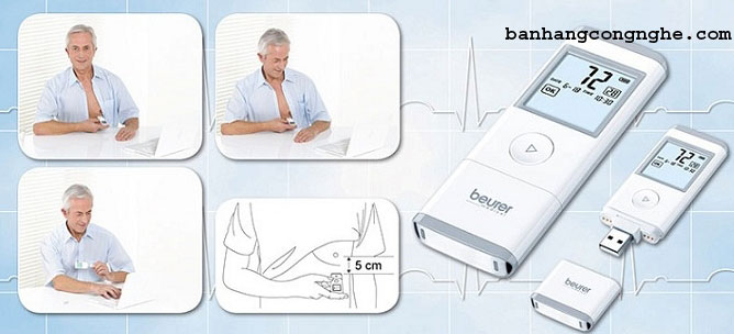máy đo điện tim tâm đồ Beurer ME90