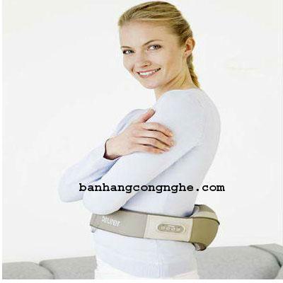 sử dụng đai massage trị liệu cổ, vai,lưng Beurer MG148