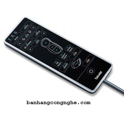 điều khiển cầm tay của ghế massage Beurer MG295