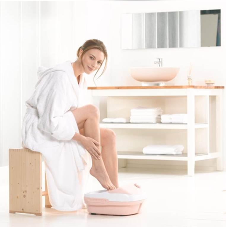 sử dụng bồn ngâm chân massage fb25