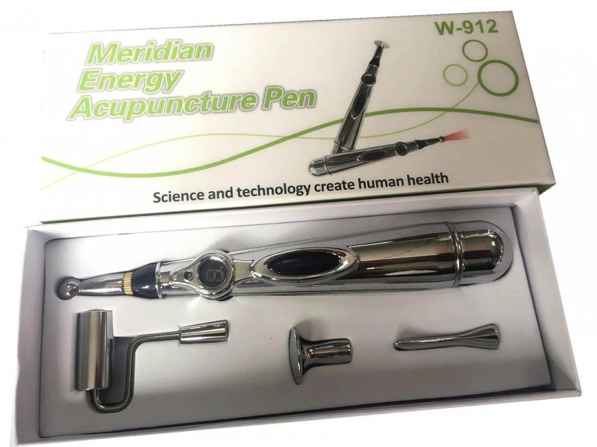bút châm cứu và máy dò huyệt trị liệu w912 5 đầu châm cứu