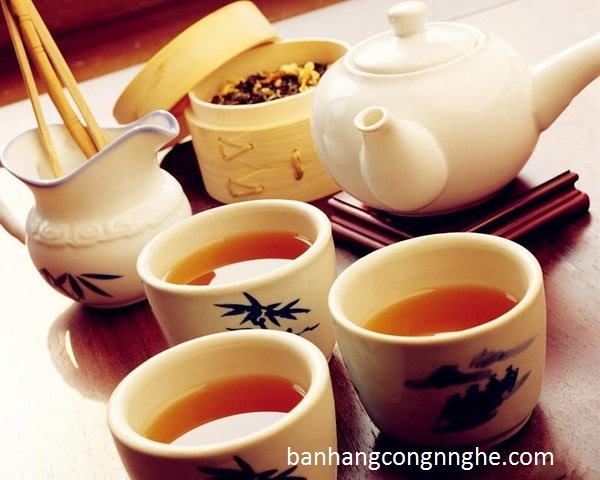 cách sử dụng trà sâm