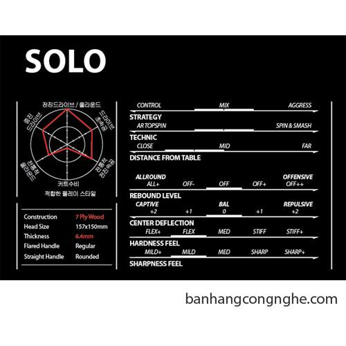 cốt vợt Xiom Solo