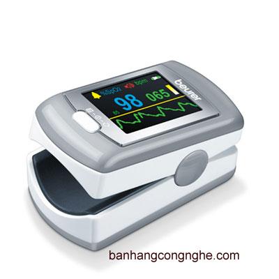 máy đo nồng độ Oxy (SPO2) và nhịp tim cá nhân Beurer PO80