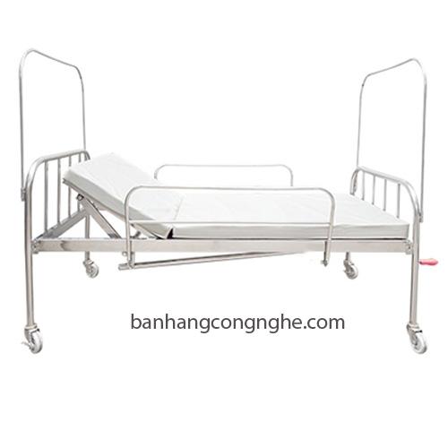 Giường bệnh hai tay quay không bô cao cấp
