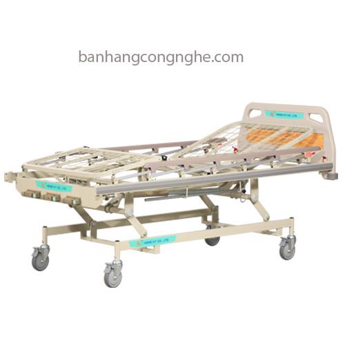 Giường y tế 3 tay quay HK 9007 giá tốt