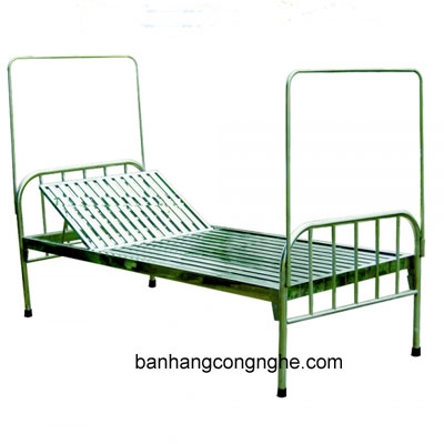 giường y tế inox 201 dát hộp không đệm