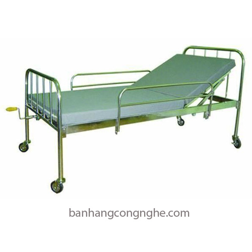 Giường y tế 1 tay quay có bô