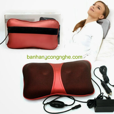 gối massage hồng ngoại Hotashi PL818