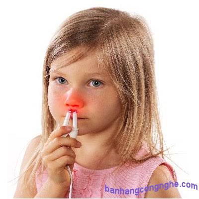 viêm mũi dị ứng và cách chữa trị bằng máy trị viêm mũi dị ứng medisana Medinose Pro