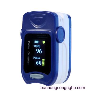 máy đo nồng độ oxy trong máu và đo nhịp tim cá nhân imedicare IO-A5