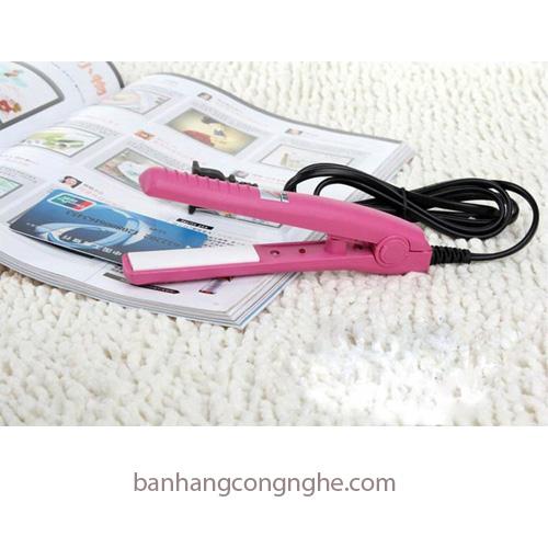 Máy duỗi tóc - kẹp tóc mini SP019 giá rẻ