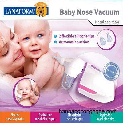 máy hút mũi lanaform Baby Nose Vacuum