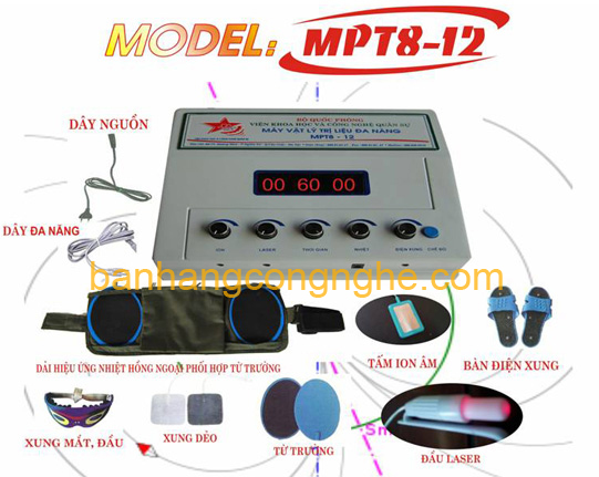 máy vật lý trị liệu đa năng MPT8-12