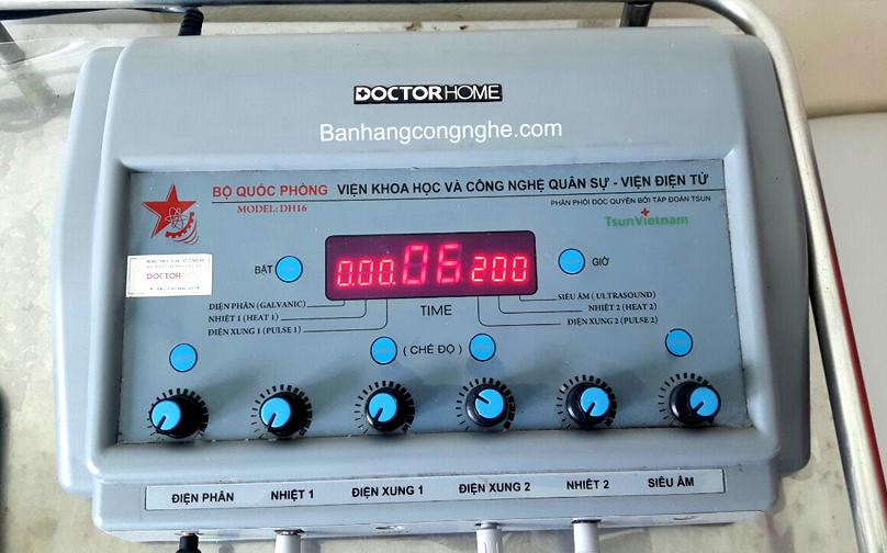 Máy vật lý trị liệu đa năng docter home DH16