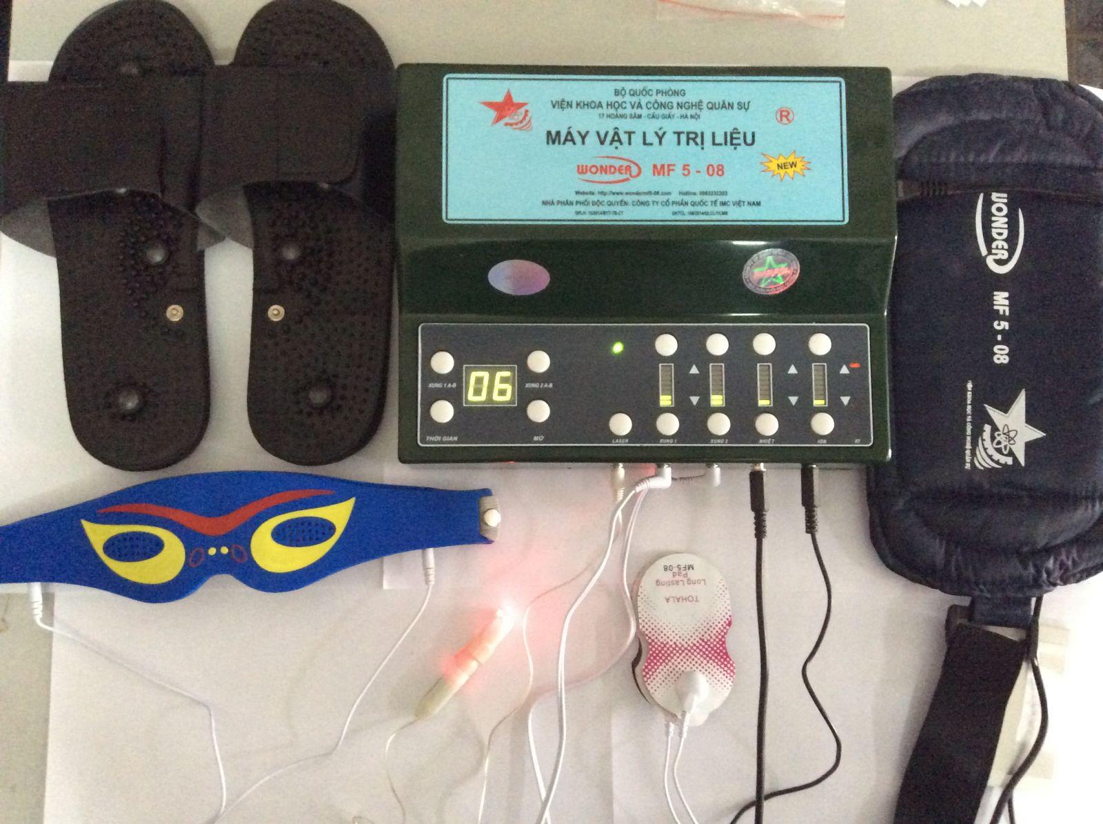 máy vật lý trị liệu đa năng wonder mf5-08N
