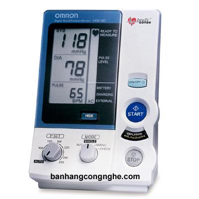 máy đo huyết áp bắp tay Omron Hem-907 - 1