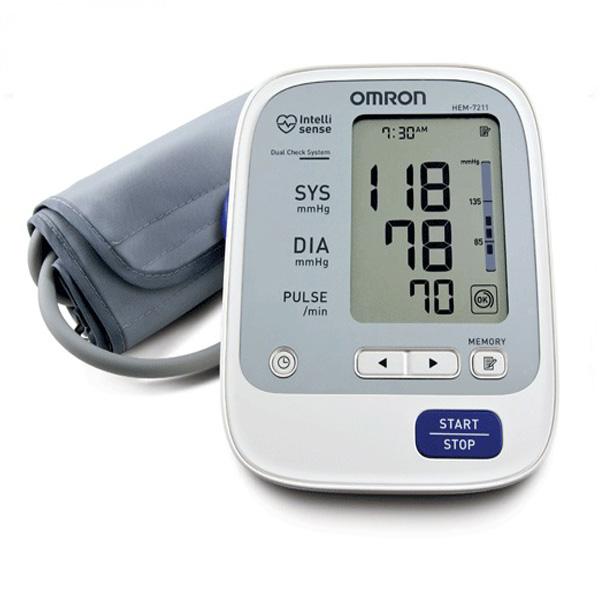 Máy đo huyết áp bắp tay Omron Hem 7211