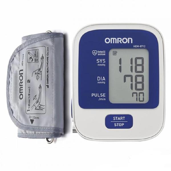 Máy đo huyết áp cổ tay Omron Hem 8712