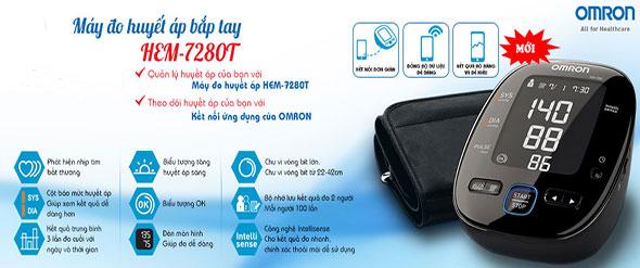 máy đo huyết áp bắp tay Omron Hem 7280T - 3